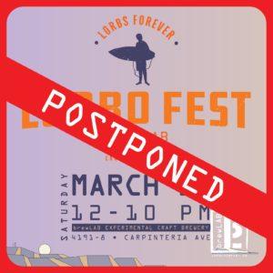 Lorbo Fest Postponed